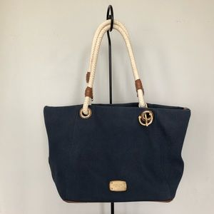Michael Kors Navy Marina Bag